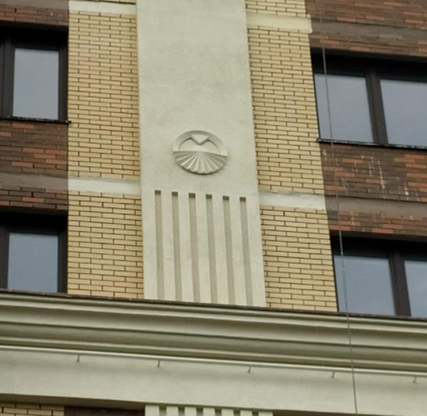 Фасадный декор из стеклопластика